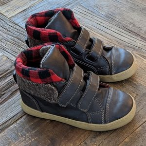 GAP Kids Leather Hightop Boys Shoes